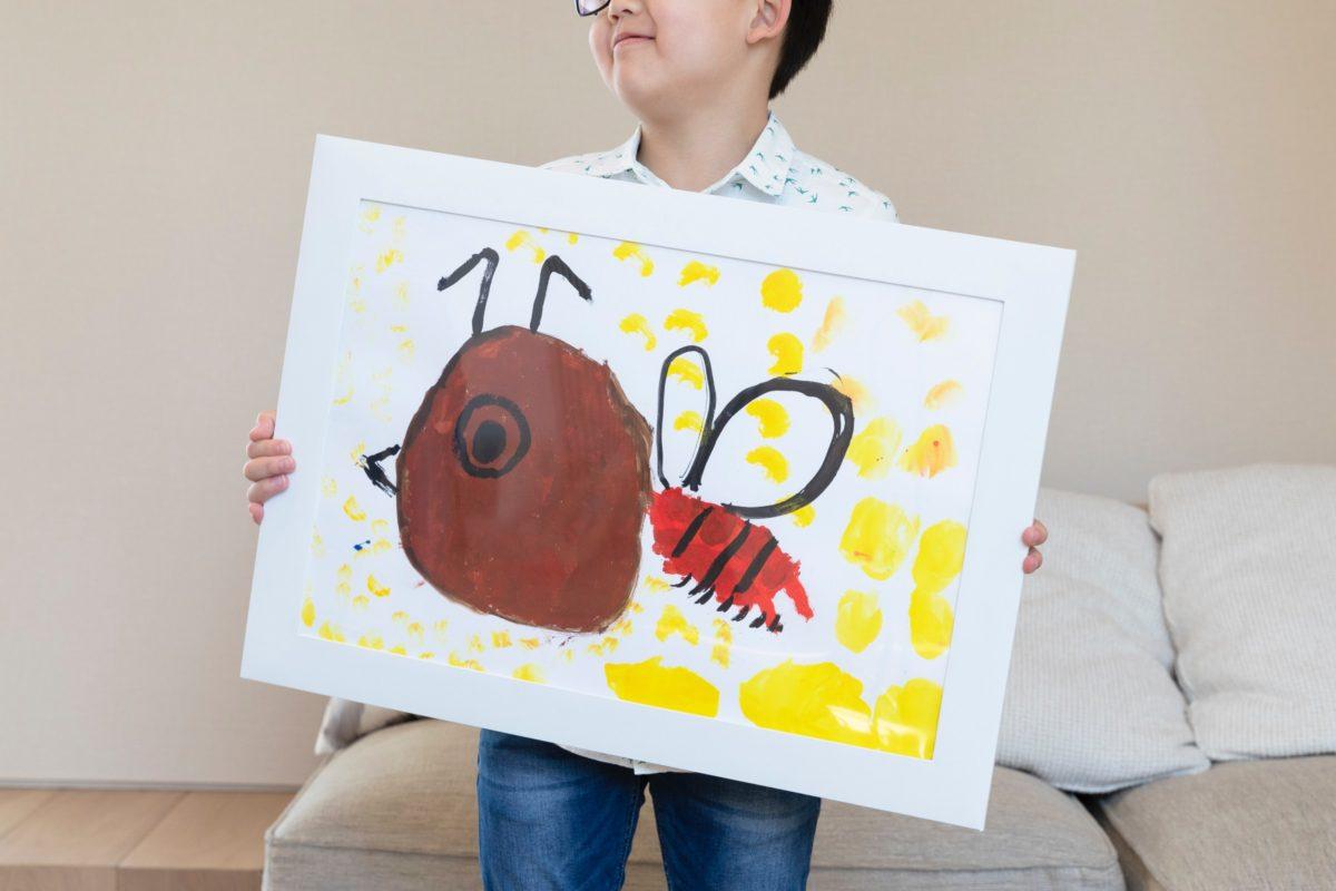 子供の絵のプリントサービス